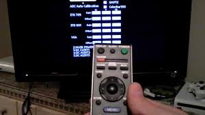 how to sony tv service menu mode reset code review youtube