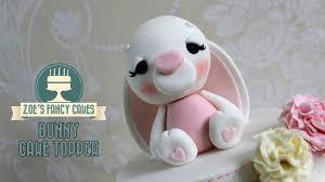 Bunny rabbit cake topper model