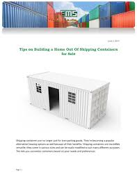100 Buying Shipping Containers For Home Building PPT Tips On A Out Of For
