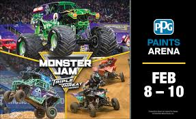 Monster Jam | PPG Paints Arena Monster Jam Returns To Raymond James Stadium Jan 13 And Feb 3 Monster Jam Returns To Pittsburghs Consol Energy Center Feb 1315 Falling Rocks And Trucks Patchwork Farm 2018 Coming Jacksonville Pittsburgh Pa 21117 7pm Grave Digger Hlight Video Of Krysten Paramore Headline Tuesday Tickets On Sale 2nd Most Dangerous Sports Advanceautopartsmonsterjam Get Your Truck On Heres The 2014 Schedule Jams Print Coupons Metro Pcs Presents In February 1214 Details