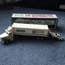 HESS 18 WHEELER With Racer 1992 - $2.90 | PicClick 1991 Servco 1990 Hess Customized Double Tandem Tanker Truck Vintage Hess Toy Trucks Lot Of 6 In Boxes 19902012 Colctible Space Shuttle Race Energy On Behance 2002 And Airplane Video Review Youtube 2017 Dump Loader Soundjacks Through The Years Newsday Lego Ideas Product Classic Fire Custom Hot Wheels Diecast Cars Gas Station Where Can I Sell My Toys Hobbylark Miniature Greg Colctibles From 1964 To 2011 Box Trailer 1975 Excellent Cdition Mint With 3 Oil