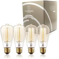 6 pack edison bulb 60 watt st64 squirrel cage filament