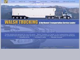 Walsh Trucking Competitors, Revenue And Employees - Owler Company ... A Mix From The 2016 Aths National Show Salem Or Pt 1 Oregon Trucking Companies Best Truck 2018 Marbert Transport Federal Motor Registry Pictures Class Cdl Flatbedcurtain Van With Walsh Co The Mack Anthem Truck Was Made Driver In Mind Images About Megatruckers Tag On Instagram Diamond T Bucket Tank Trailer News Transcourt Inc Page 2