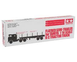 100 Rc Semi Trucks And Trailers Tamiya 114 Truck Flatbed Trailer TAM56306 Cars