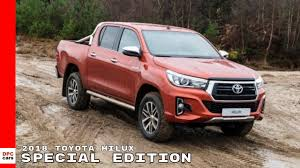 100 Toyota Hilux Truck 2018 Special Edition YouTube