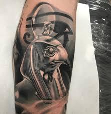 Incredible Egyptian God Ra Tattoo