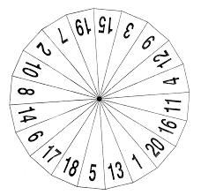Blank Spinner Template Printable
