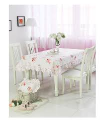 MK Korean Pastoral Ruffles Cloth MSHK Dining Table Cover Set Tablecloth Chair Cushions In Tablecloths From Home