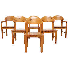 Set Of 6 Rainer Daumiller Style Pine Dining Chairs For Sale At 1stdibs Santa Fe Rusticos Solid Pine Ding Chair The Brick Shop Deana Ornate Linen And Wood Chairs Set Of 2 By Mistana Colletta Reviews Wayfair Hill Each In Rustic Humble Abode Vidaxl Side Seat Brown Kitchen Living Mar Pro Csc 018 Retro Fniture Finland Pinewood Buy Chairwooden Chairpine Metal Bouclaircom Seconique Corona Waxed With Pu Steel X Base Table Home Ideas Farmhouse Ding Room Table Antiques Atlas Of 6 Katlyn
