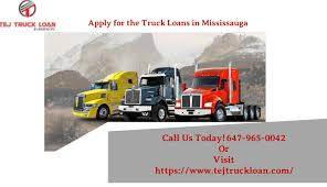 100 Truck Loans Reliable And Cheap Mississauga By Tejtruckloan01 Issuu