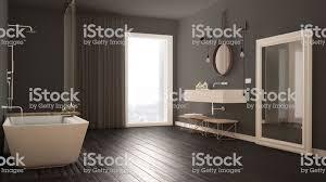 klassisches badezimmer modernes minimalistisches design stockfoto und mehr bilder badewanne