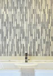 Akdo Glass Tile Parchment by Stagger Luxe Blend Clear Akdo