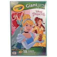 Crayola Disney Princess Giant 18 Page Coloring Book