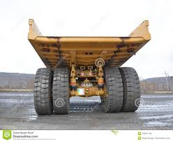 100 Large Dump Trucks Truck Body Rear View From The Side Of The Body
