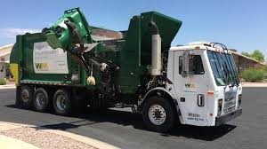 WM Of Marana, AZ ⇨ McNeilus AFE Garbage Truck - YouTube