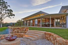 Skillion Roof House, Stone Wall, Fire Pit. Photo By Marian Riabic ... Skillion Roof House Plans Apartments Shed Style Modern Beach Designs Preston Urban Homes Tasmania House Builders In The Provoleta Direct Wa Design Ideas Pictures Remodel And Decor Google New Home Redland Bay Impact Drafting Granny Flats Facades Mcdonald Jones Storybook Split Level Simple Roofing Also Types Architecture A Why I Love This Roof Design Reno Mumma Most Affordable Wrought Iron Gates And Houses Pinterest