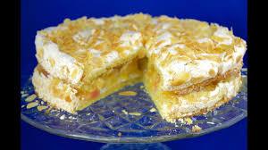 apfel baiser torte apple meringue cake