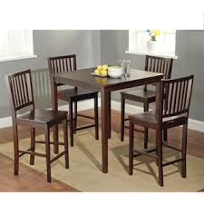 simple living shaker counter height 5 piece dining set by simple