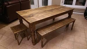 cuisine en bois table de cuisine en bois de grange l40 in wonderful home interior