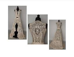 All Lace Ball Gown Wedding Dresses Vintage From Brussels
