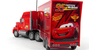 100 Cars 2 Mack Truck Disney Pixar Toys RC Turbo Toy Video Review YouTube