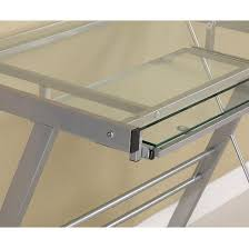 l shaped glass corner computer desk saracina home target