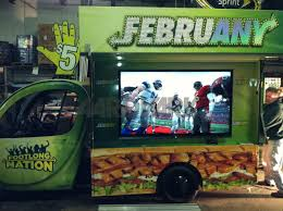 Subway Food Truck - The Aardy By Aardvark Event Logistics. AEL ... Truck Crashes Into Farmington Subway Nbc Connecticut Semitrailer Crashes Into Restaurant In Platte County Police Elderly Warren Man Struck Killed By Truck On Van Dyke Nation And Rapid Recovery Rooftop Unit Dade Corners Marketplace Fuel Wash Parking Sandwiches 8304 Us Hwy 158 Stokesdale Nc Restaurant Parking Problem Is Tied To Data Avaability Fleet Owner 99 Chevy Silverado Parts Beautiful 1999 Dodge Ram 1500 Pickup Used 2008 Ford F250 Xl 54l 4x4 Inc