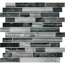 american olean 12 in x 12 in loren place equinox glass wall tile