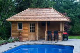 Amish Mikes Sheds by Backyard Pool Houses And Cabanas Pool Sheds And Cabanas Oakville