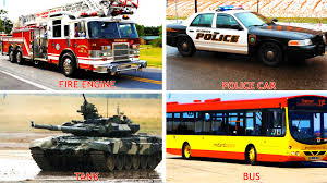 Cars For Kids : Transportation Sounds - Names And Sounds Of Vehicles ... Ambulance Video For Children Kids Truck Fire And Rescue Tow Youtube Alphabet Garbage Learning Vacuum Trucks Color Cars In Spiderman Cartoon Videos Colors Pictures Of For Group 67 Monster Road Roller Excavator