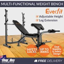 STS MultiFunction Bench York Barbell