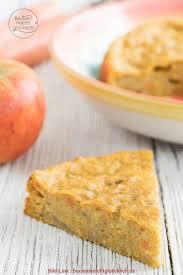 gesunder kuchen oben apfel karotten kuchen ohne zucker