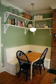 Banquette Seating For Small Dining Room Always Wanted A Built In Bench With Kitchen Table