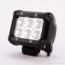 100 Led Work Lights For Trucks 18W LED Light Spot Driving Fog Light For Motorcycle Tractor