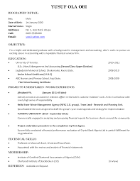 Example Objective In Resume For Fresh Graduates 6