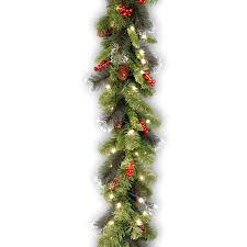 Fiber Optic Christmas Trees The Range by Amazon Com National Tree 9 Foot By 10 Inch Crestwood Spruce