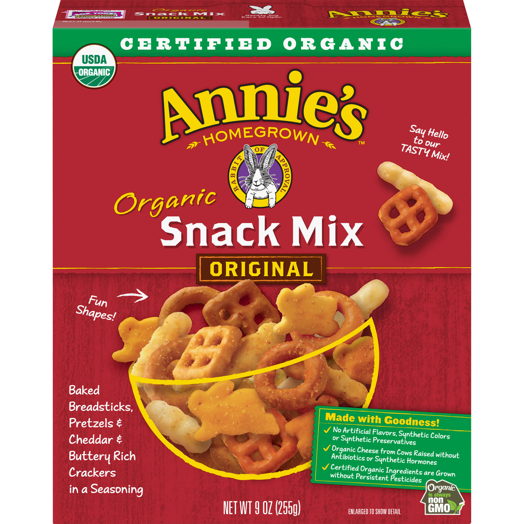 Annie's Homegrown Organic Snack Mix - 9oz
