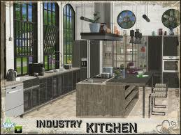 The Sims Resource Industry Kitchen By BuffSumm