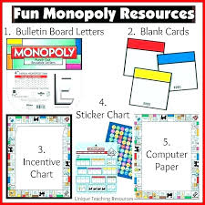 Monopoly Property Card Template Cards Fresh Word Printable