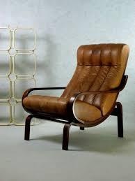70s ledersessel loungesessel vintage retro sessel leder
