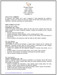 Sample Template Of An Excellent Restaurant Manager Resume Example With Work Experience International Standard CV Professional Curriculum Vitae Free