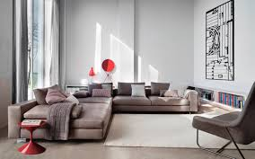 archiexpo canapé modular sofa contemporary fabric leather by ludovica