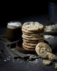 weiche cookies mit weißer schokolade cranberries