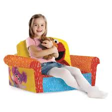 Marshmallow Flip Open Sofa Disney Princess by Spin Master Marshmallow Furniture Flip Open Sofa Elmo Sesame Street