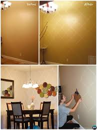 Painting Ideas And Techniques Diy Patterned Wall Picture