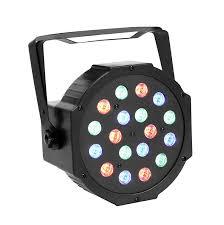 Amazon GBGS 18LED Par Lights DJ Up Lighting DMX512 Stage