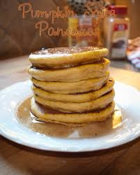 Pumpkin Pancakes W Bisquick by The Blueberry Moon Pumpkin Spice Pancakes