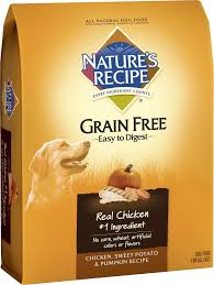Dog Constipation Treatment Pumpkin by Nature U0027s Recipe Grain Free Chicken Sweet Potato U0026 Pumpkin Recipe
