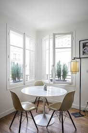 9 Small-Space Ideas To Steal From A Tiny Paris Apartment ... Ding Room Set White Kitchen Table Tables For Small Chairs Living Swivel Euro Rscg Chicago From Amazing Ideas Spaces About 24 Space Best Hacks For Homes Twenty Ding Tables That Work Great In Small Spaces 10 Smallspace Decorating Interior Licious Saving Comfy Rooms Makeover A Doubleduty Den Wayfair 15 Fniture Pieces 50 Gorgeous Stylish Design More Seating And Style Oriestrendingcom