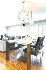 Modern Dining Lighting Fixtures Room Table Light